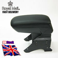 Armrest Centre Console Black Faux Leather For AUDI 80 100 200 A4 A3 A2 B4