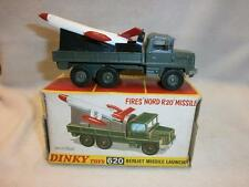 DINKY BERLIET MISSILE LAUNCHER WITH NORD R20 MISSILE NO 620 MIB ORIGINAL