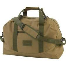 """20"""" OD Green Canvas Duffle Bag Utiility Tote Shoulder Travel Survival Military"""