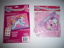 MY LITTLE PONY HAPPY BIRTHDAY PARTY BANNER & GAME NEW PIN THE TAIL SIMILAR GAME