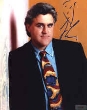 """JAY LENO In-Person Signed Photo with a SuperStars Gallery """"SSG"""" COA - PROOF"""