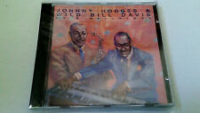 "JOHNNY HODGES & WILD BILL DAVIS ""IN A MELLOTONE"" CD 10 TRACKS COMO NUEVO"