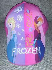 Disney Frozen multicolored Velcro  cap hat Girls