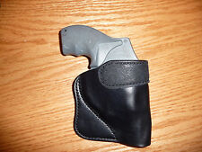 Molded Pocket Holster For Small Revolver J Smith and Wesson, Colt, LCR, Taurus