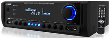 NEW Pyle PT380AU 200 Watt Digital Home Stereo Receiver System with USB Reader