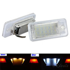 18 LED Error Free License Number Plate Light Lamp For Audi A3 A4 A6 A8 B6 S3 Q7