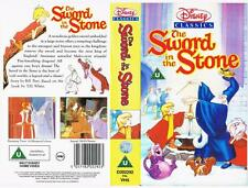 DISNEY -  THE SWORD IN THE STONE   *RARE VHS TAPE*