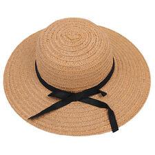 Spring Fashion Ladies Chic Wide Large Brim Summer Beach Sun p Straw Hat