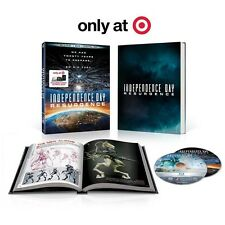 INDEPENDENCE DAY 2/RESURGENCE/TARGET EXCLUSIVE BLU RAY FREE WORLD SHIPPING