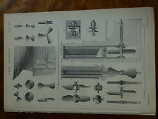 1874 ENGRAVING SCREW PROPELLER - Scale Drawings SHIP