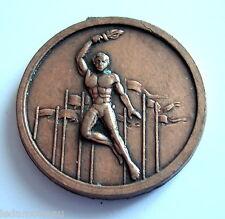 Médaille de sport, dos lisse, diamètre: 30 mm.