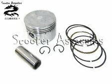 125cc (52.4mm) PISTON KIT for GY6 +152QMI engines #1548  TN