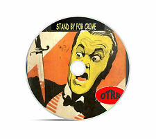 Stand By For Crime 26 Old Time Radio Shows In MP3 Audio Format Supplied On A CD
