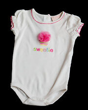 New Gymboree Girl Bodysuit with Cupcake and Bow 3-6m NWT Cupcake Sweetie Girls