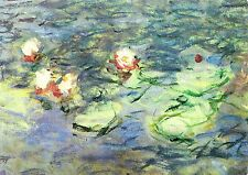 Carte Postale Claude Monet - Les Nymphéas