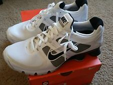 Nike Shox Turbo 11 Mens 13 white gray black