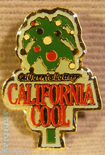 CA COOL CALIFORNIA LOTTERY HAT Lapel PIN Button Brooch Badge Pinback