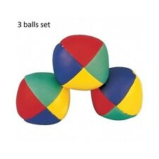 Bean Bag Balls 3 Juggling Ball Set Juggler Equipment Children Clown Circus Toys