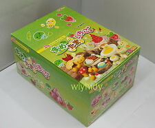 Miniatures Bean Egg Strawberry Complete Box RARE - Re-ment h#2