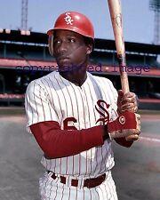 Jorge Orta 1972-79 White Sox  Comiskey Park TOPPS Color  8x10 C