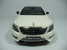 MERCEDES-BENZ S65  AMG V222 DIAMANTWEISS 1:18 GT-SPIRIT DEALER 1000pcs RARE