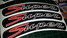Vespa GTS Super Sport Rim tape Wheel stickers EXCLUSIVE DESIGN 2 125 200 250 300