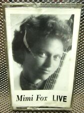 MIMI FOX Live cassette tape 1993 jazz guitar NWT Berkeley faculty