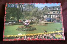Montpellier Gardens Harrogate 1000 Piece Jigsaw Puzzle SEALED DENTED BOX Flowers