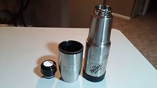 Stainless Steel Vacuum FLASK Thermos  HOME DEPOT LOGO 16.9 OZ .5 LITER NEW