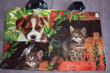 50x kitty, plastic printed carrier bags 38x43cm,   one price for delivery,