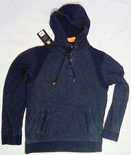 Rock & Republic Mens Hoodie Size Medium Heather Navy
