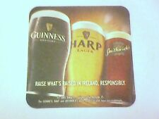 GUINNESS HARP SMITHWICK'S  - Beermat / Coaster Same reverse