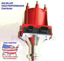 BILLET HIGH PERFORMANCE IGNITION DISTRIBUTOR for GMC CHEVY Pontiac V6 4.3L 262