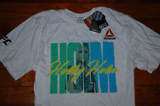 NEW Men's Heidi Holm MMA Championship Belt UFC Graphic T-Shirt (Medium)