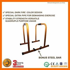 CHIN UP DIP PARALLEL BARS  PARALLETTES STAND TRAIN PUSH DIPPING CROSS TRAINING