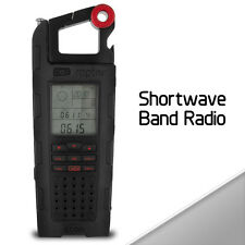 NEW Etn Eton Raptor Solar Charge Emergency & Shortwave Band Radio ESP200SXB