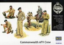 COMMONWEALTH (BRITISH) AFV CREW, GURKHA & ARAB ON CAMEL N. AFRICA 1/35 MASTERBOX
