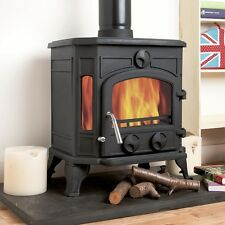 8kw Coseyfire 16 Multi-Fuel Cast Iron Woodburning Wood Burning Stove Stoves