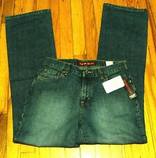 NWT Nautica Stretch Mid-rise Full Fit Medium Wash Boot Cut Jeans  - Size 10/31