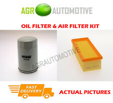 PETROL SERVICE KIT OIL AIR FILTER FOR ROVER 414 1.4 103 BHP 1995-99
