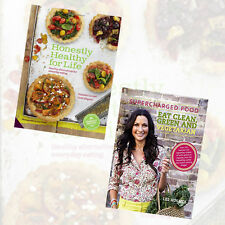 Honestly Healthy 2 Books Collection Set (Supercharged Food Eat Clean)