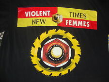 Vintage THE VIOLENT FEMMES 1994 90's Concert Tour T shirt XL