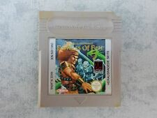 WIZARDS & WARRIORS FORTRESS OF FEAR NINTENDO GAME BOY GB, COLOR GBC, ADVANCE GBA