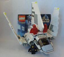Lego Star Wars Imperial Shuttle 7166 4 Minifigs Instructions Emperor Palpatine