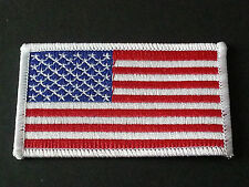 NATIONAL WORLD COUNTRY EMBROIDERED FLAG SEW/IRON ON PATCH:- UNITED STATES ( c )