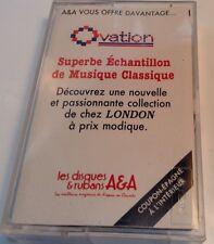 A & A SUPEBER ECHANTILLON DE MUSIQUE CLASSIQUE Tape Cassette  1981 A&A Records