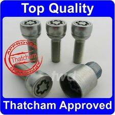 QUALITY WHEEL LOCKING BOLTS FOR PORSCHE CAYENNE THATCHAM ALLOY SECURITY NUT [6B]