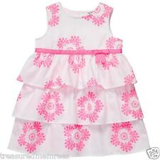 Carter's 2 Piece Tiered Floral Dress With Diaper Cover ~ Size 3 Months ~ NWT