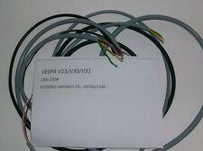 IMPIANTO ELETTRICO ELECTRICAL WIRING VESPA 125  V15/V30/V33 + SCHEMA ELETTRICO