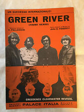 SPARTITO MUSICALE GREEN RIVER FIUME VERDE CREEDENCE CLEARWATER REVIVAL 1969